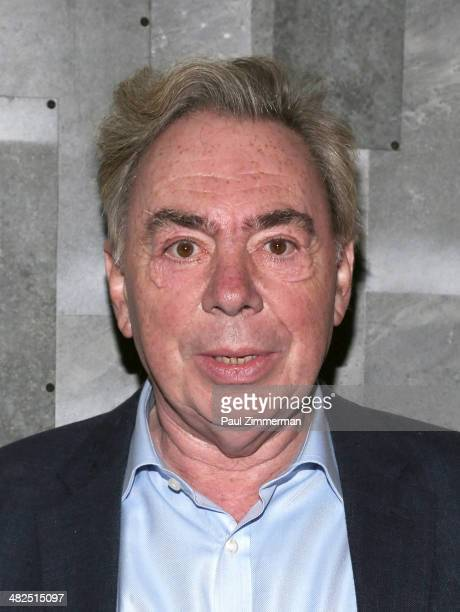 Composer Andrew Lloyd Webber attends 'Guys And Dolls' after party at Remi on April 3 2014 in New York City