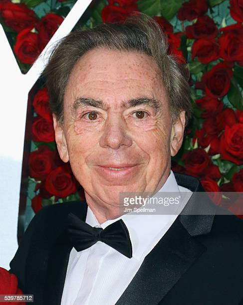 Composer Andrew Lloyd Webber attends the 70th Annual Tony Awards at Beacon Theatre on June 12 2016 in New York City