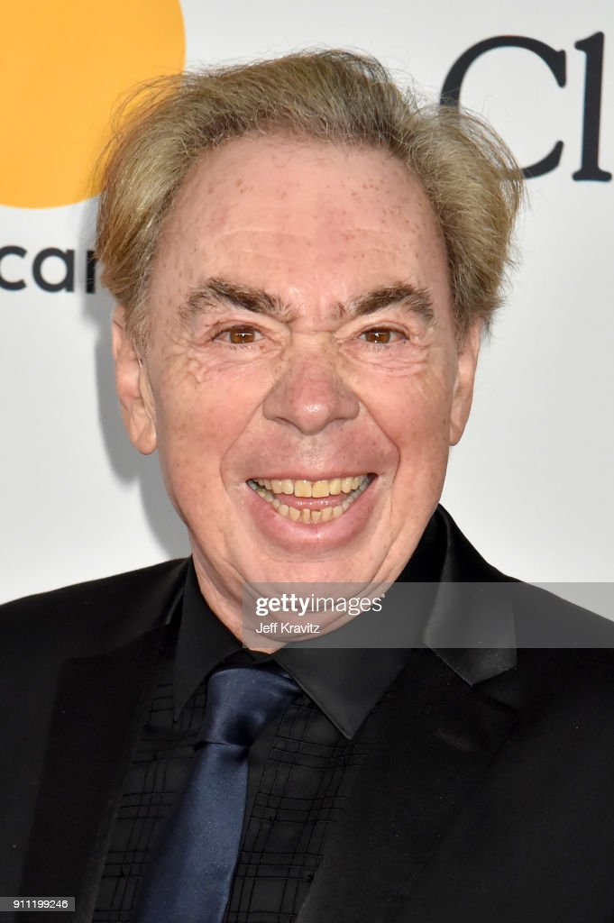 Composer Andrew Lloyd Webber attends the Clive Davis and Recording Academy Pre-GRAMMY Gala and GRAMMY Salute to Industry Icons Honoring Jay-Z on January 27, 2018 in New York City.