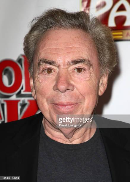 Composer Andrew Lloyd Webber attends the Los Angeles premiere of School of Rock The Musical at the Pantages Theatre on May 3 2018 in Hollywood...