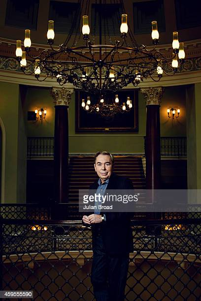 Composer Andrew Lloyd Webber is photographed for Vanity Fair magazine on June 18 2013 in London England