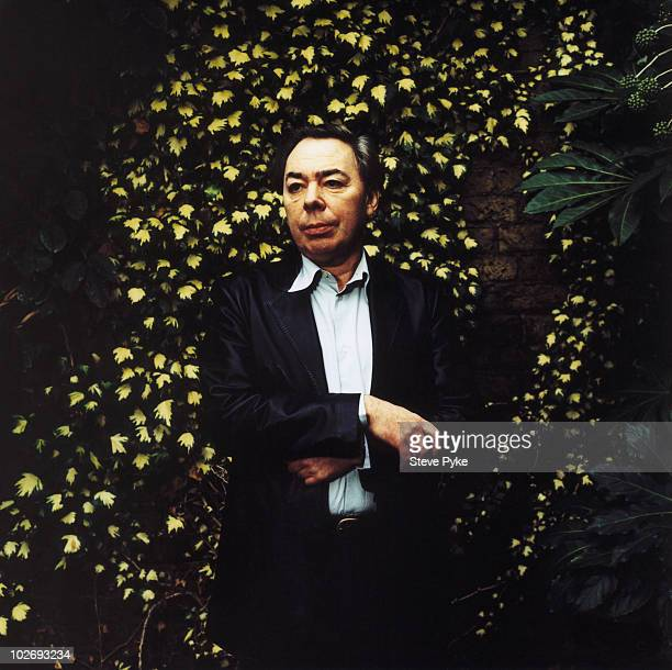 Composer Andrew Lloyd Webber poses for a portrait shoot in London UK