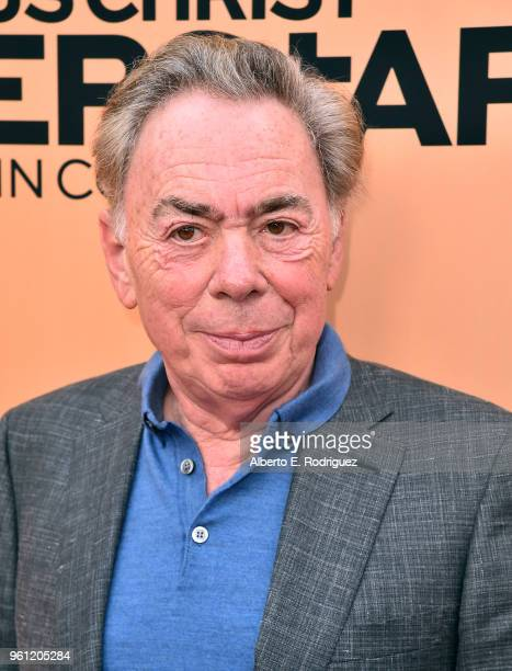 Composer Andrew Lloyd Weber attends an FYC Event for NBC's Jesus Christ Superstar Live in Concert at the Egyptian Theatre on May 21 2018 in Hollywood...
