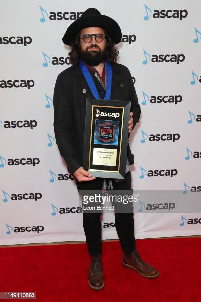 Composer Antonio Beliveau, winner of the award for Top Network Television Series 'The Conners' attends 34th Annual ASCAP Screen Music Awards at The...