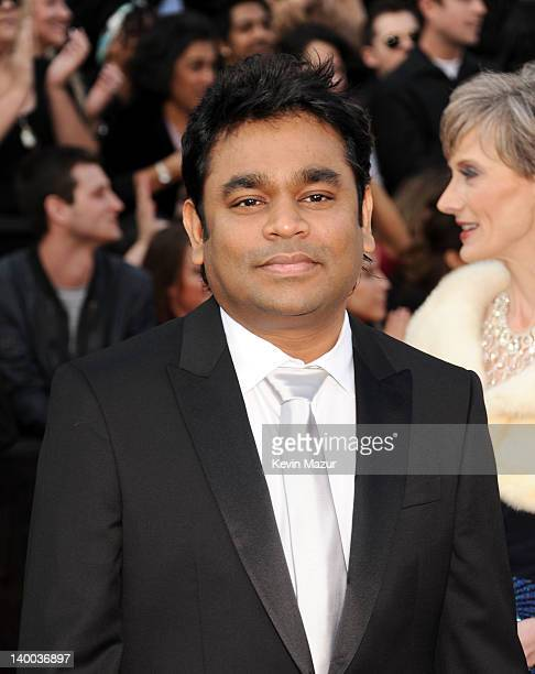 Composer AR Rahman arrives at the 84th Annual Academy Awards held at the Hollywood Highland Center on February 26 2012 in Hollywood California