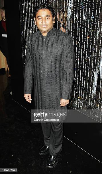 Composer AR Rahman attends the Swarovski Hosts 'The Passage' Party during the 66th Venice Film Festival on September 6 2009 in Venice Italy