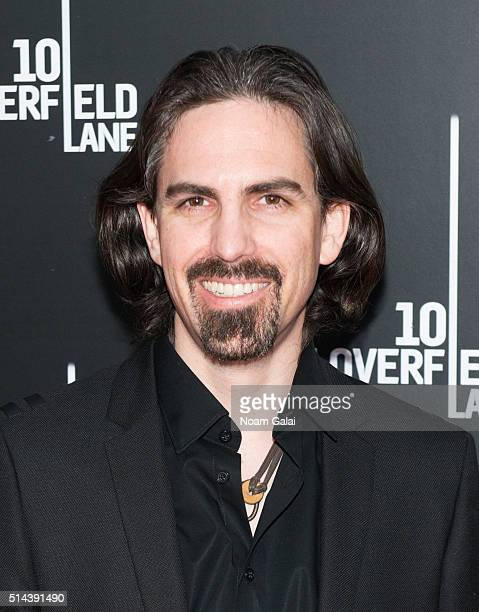 Composer Bear McCreary attends '10 Cloverfield Lane' New York premiere at AMC Loews Lincoln Square 13 theater on March 8 2016 in New York City