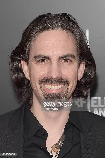 Composer Bear McCreary attends the 10 Cloverfield Lane New York premiere at AMC Loews Lincoln Square 13 theater on March 8 2016 in New York City