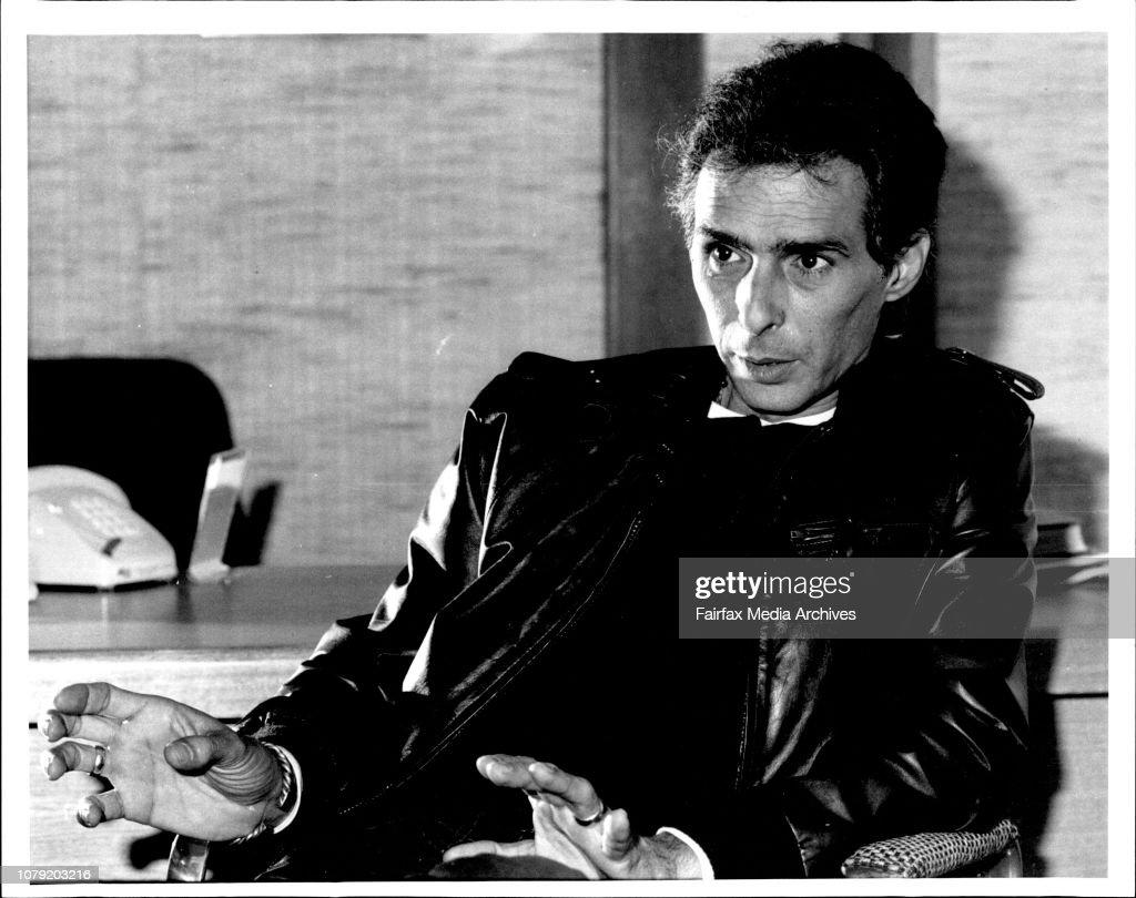 Composer Bill Conti who has composed the music for the Australian film Coolangatta Gold. : News Photo