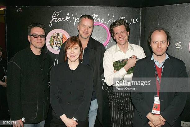 Composer Blake Leyh, musician Suzanne Vega, actor Tim Robbins, moderator Rick Karr and composer Michael Rohatyn attend the Tribeca Film Festival...