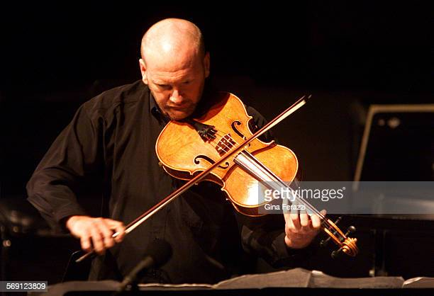 Composer Brett Dean performs Intimate Decisions solo on the viola in Los Angeles Philharmonic New Music Group's final Green Umbrella concert of the...