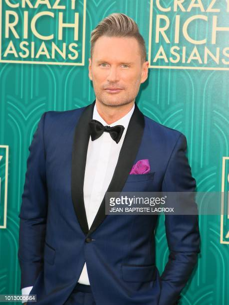 Composer Brian Tyler attends the premiere of Warner Bros Pictures' 'Crazy Rich Asians' in Hollywood California on August 7 2018