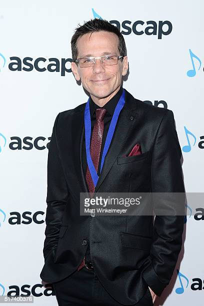 Composer Carl Thiel arrives at the 2016 ASCAP Screen Music Awards at The Beverly Hilton Hotel on March 24 2016 in Beverly Hills California