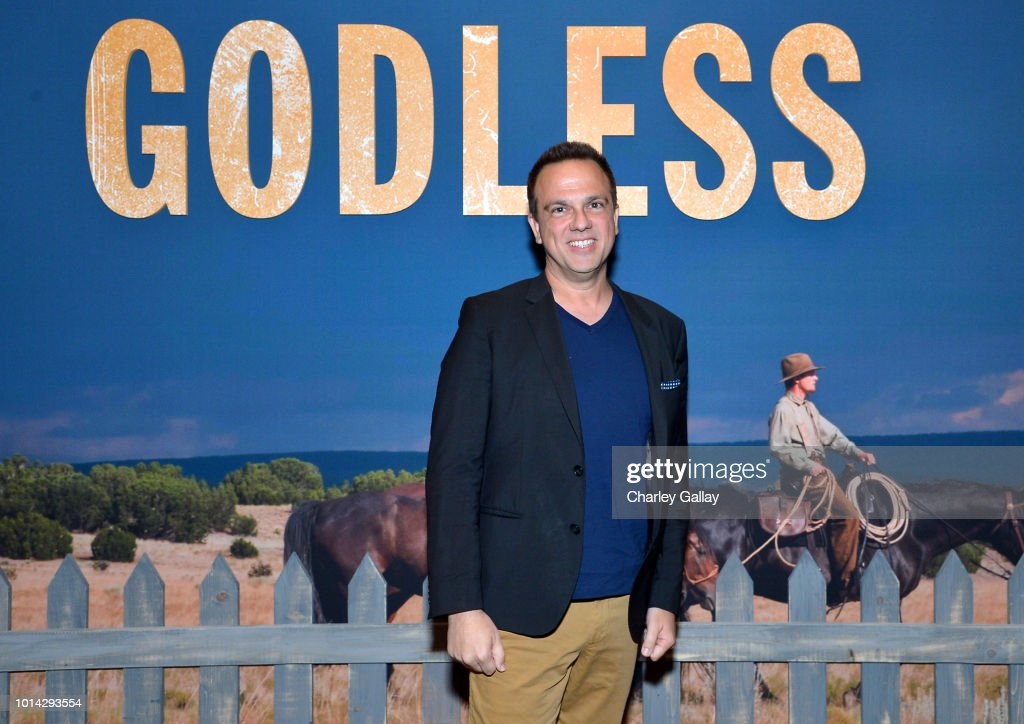 Composer Carlos Rafael Rivera attends Netflix Celebrates 12 Emmy Nominations For 'Godless' at DGA Theater on August 9, 2018 in Los Angeles, California.