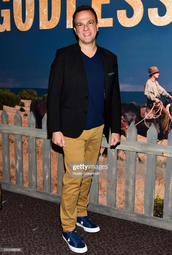 Composer Carlos Rafael Rivera attends the Netflix 12 Emmy nominations celebration for 'Godless' at DGA Theater on August 9, 2018 in Los Angeles, California.