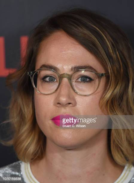 Composer Carly Paradis attends a special screening of the Netflix show The Innocents at the Curzon Mayfair on August 20 2018 in London England