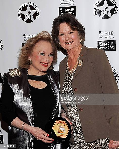 Composer Carol Conners and Hollywood Arts Council President Nyla Arslanian pose during the Hollywood Arts Council's 25th Annual Charlie Awards...
