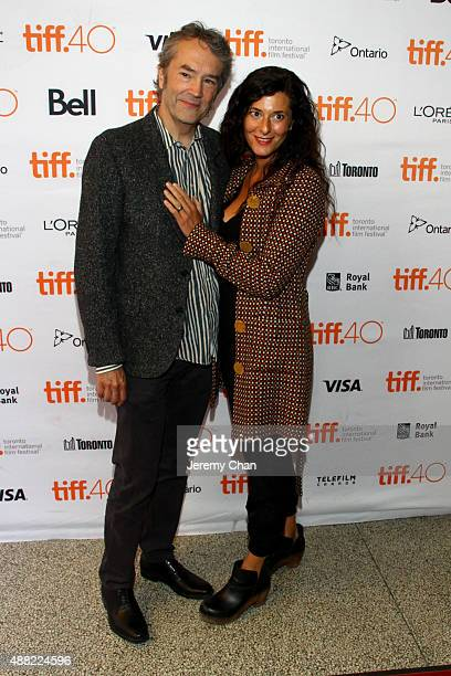 Composer Carter Burwell and c attends 'The Family Fang' premiere during the 2015 Toronto International Film Festival at the Winter Garden Theatre on...