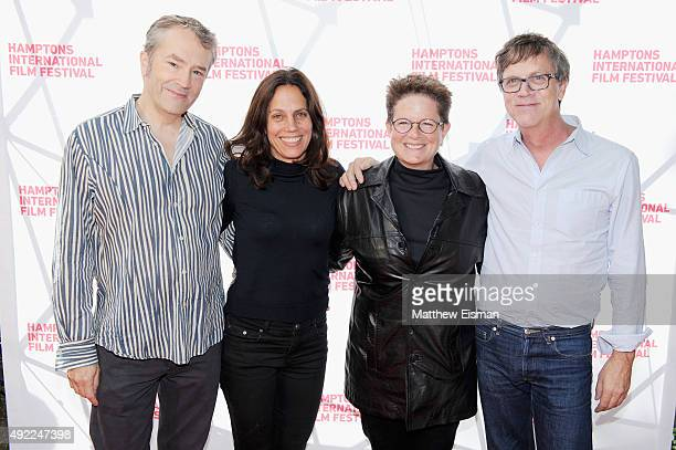 Composer Carter Burwell, Elizabeth Karlson, and Co-Directors Phyllis Nagy, and Todd Haynes attend 'Carol' photo call on Day 4 of the 23rd Annual...
