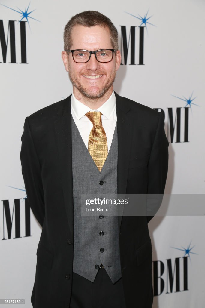 Composer Chad Fischer arrives to the 2017 BMI Film, TV And Visual