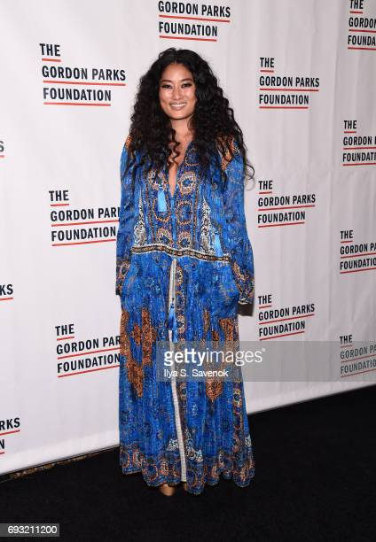 Composer Chloe Flowe attends the 2017 Gordon Parks Foundation Awards Gala at Cipriani 42nd Street on June 6 2017 in New York City