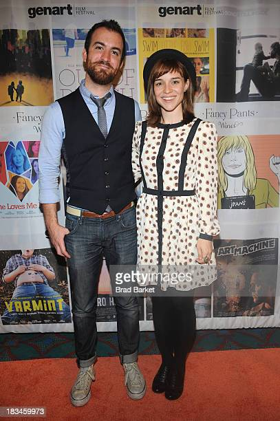 Composer Chris Gabriel and director Renee Felice Smith attend the 18th Annual Genart Film Festival Closing Night She Loves Me Not Swim Little Fish...