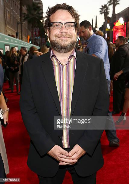 Composer Christophe Beck attends The World Premiere of Disney's Alexander and the Terrible Horrible No Good Very Bad Day at the El Capitan Theatre on...