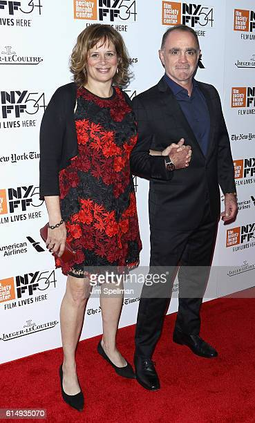 """Composer Christopher Spelman and guest attend the 54th New York Film Festival closing night screening of """"The Lost City Of Z"""" at Alice Tully Hall,..."""