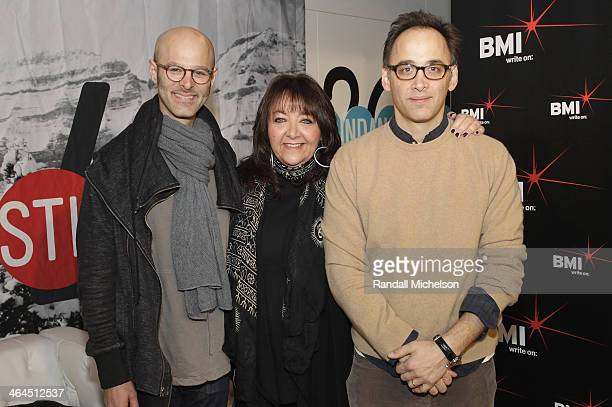 Composer Craig Wedren BMI's Doreen RingerRoss and director David Wain attends BMI's 16th Annual Composer/Director Roundtable Music Film The Creative...