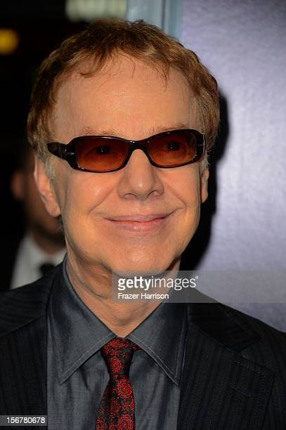 Composer Danny Elfman Aarrives at the Premiere Of Fox Searchlight Pictures' Hitchcock at AMPAS Samuel Goldwyn Theater on November 20 2012 in Beverly...