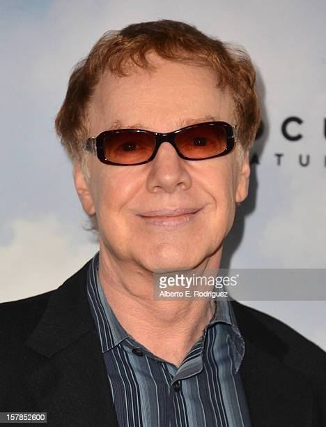 Composer Danny Elfman arrives to the premiere of Focus Features' Promised Land at the Directors Guild Of America on December 6 2012 in Los Angeles...