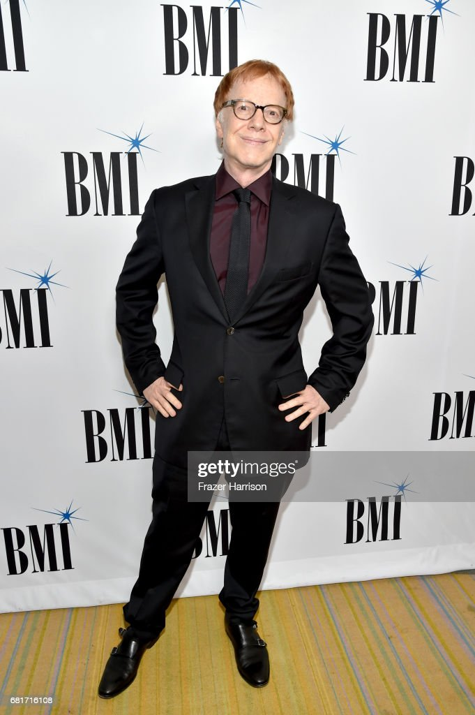 Composer Danny Elfman at the 2017 Broadcast Music, Inc (BMI) Film, TV & Visual Media Awards at the Beverly Wilshire Hotel on May 10, 2017 in Beverly Hills, California.