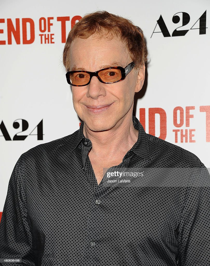 Composer Danny Elfman attends the premiere of 'The End Of The Tour' at Writers Guild Theater on July 13, 2015 in Beverly Hills, California.