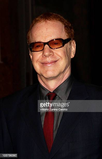 Composer Danny Elfman attends the Uomo Vogue Hosts Dinner For Quentin Tarantino during the 67th Venice International Film Festival on August 31 2010...