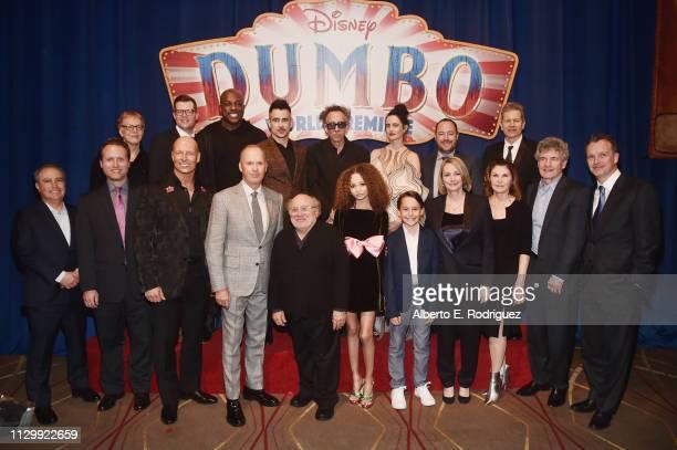 Composer Danny Elfman Producer Justin Springer actors DeObia Oparei Colin Farrell Director/executive producer Tim Burton actor Eva Green Producer...