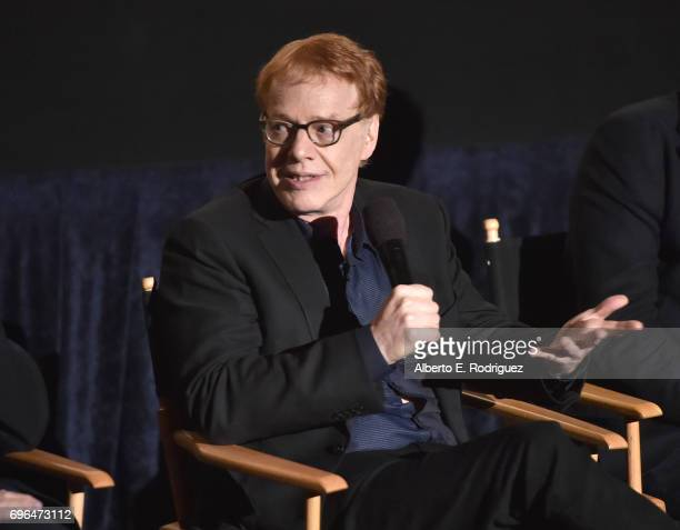 Composer Danny Elfman speaks during the premiere of 'Rabbit Rogue' during the 2017 Los Angeles Film Festival at Arclight Cinemas Culver City on June...
