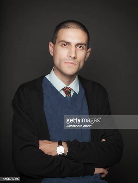 Composer Dario Agazzi poses during 32th Turin Film Festival for Self Assignment on November 24 2014 in Turin Italy