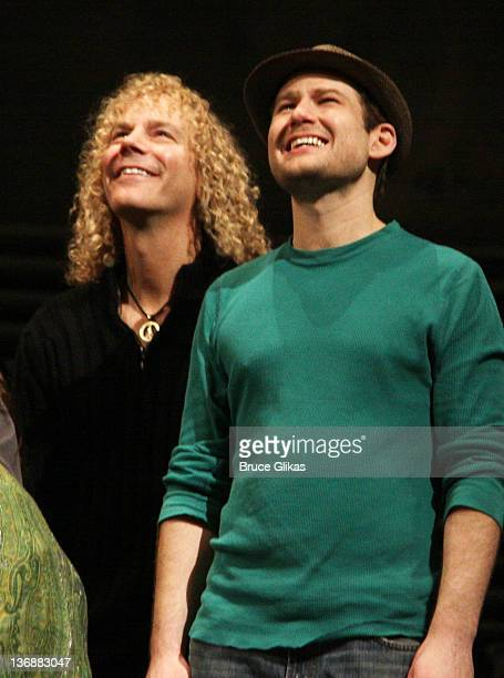 Composer David Bryan and Chad Kimball at a special performance of Memphis for Inspire Change presented by Audemars Piguet The Tony Awards Broadway...