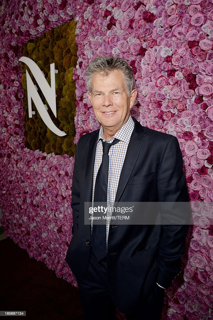 Composer David Foster celebrates the opening of the new Nespresso Beverly Hills Flagship boutique on October 23, 2013 in Beverly Hills, California. The 7,500 square foot space offers guests the ultimate coffee experience.