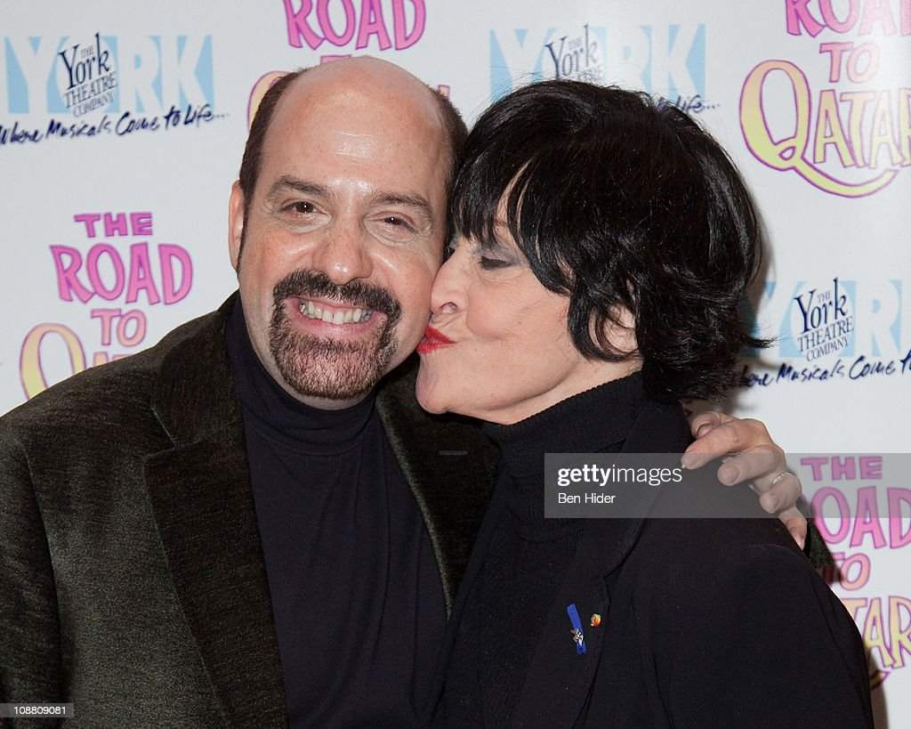 Composer David Krane and Actress Chita Rivera attends the Off-Broadway opening night of 'The Road to Qatar' at The York Theatre at Saint Peter's on February 3, 2011 in New York City.