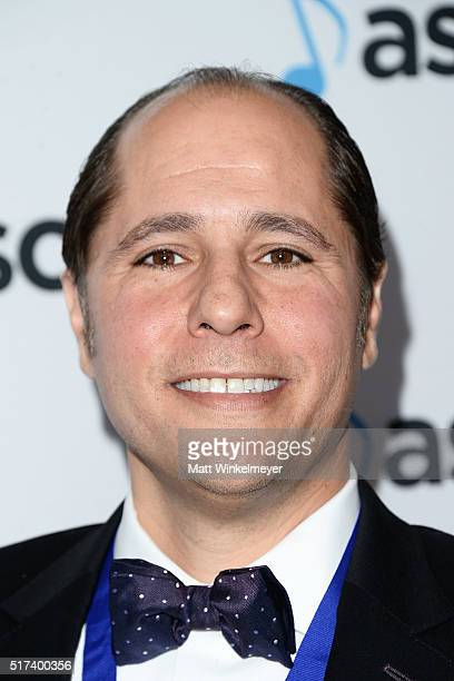 Composer Didier Rachou arrives at the 2016 ASCAP Screen Music Awards at The Beverly Hilton Hotel on March 24 2016 in Beverly Hills California