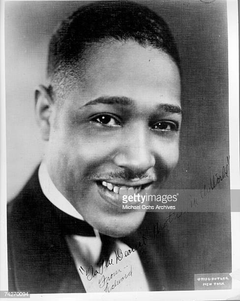 Composer Duke Ellington poses for an early portrait in circa 1920 in New York, New York.