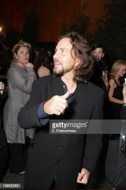 Composer Eddie Vedder at the Los Angeles Premiere of Paramount Vantage 'Into The Wild' at the Director's Guild of America on September 18 2007 in Los...