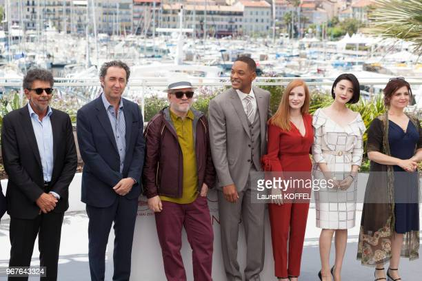 Composer Gabriel Yared Director Paolo Sorrentino director Pedro Amoldovar actor Will Smith actress Jessica Chastain actress Fan Bingbing and director...