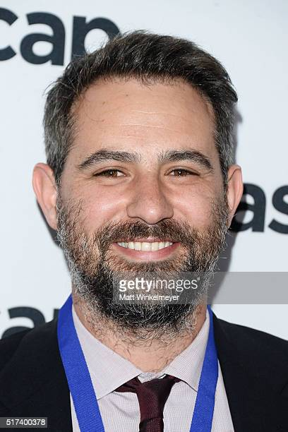Composer Gregg Lehrman arrives at the 2016 ASCAP Screen Music Awards at The Beverly Hilton Hotel on March 24 2016 in Beverly Hills California