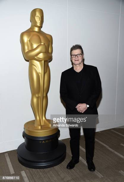 Composer Gustavo Santaolalla attends the Academy's screening and conversation of 'Amores Perros' at the Academy of Motion Picture Arts and Sciences...