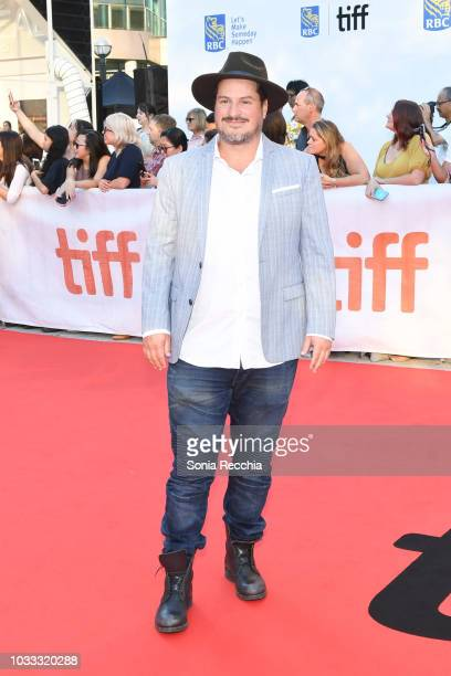 Composer H Scott Salinas attends the 'A Private War' premiere during 2018 Toronto International Film Festival at Roy Thomson Hall on September 14...