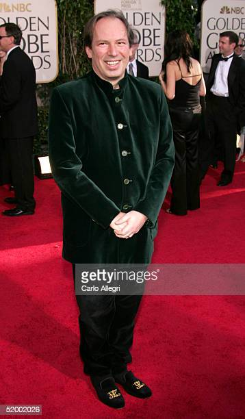 Composer Hans Zimmer arrives at the 62nd Annual Golden Globe Awards at the Beverly Hilton Hotel January 16 2005 in Beverly Hills California