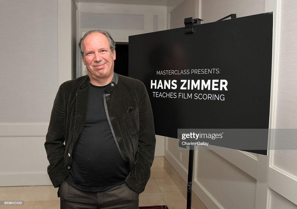 Hans Zimmer's MasterClass Reception : News Photo