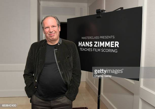 Composer Hans Zimmer attends Hans Zimmer's MasterClass Launch at The London Hotel on March 15 2017 in West Hollywood California